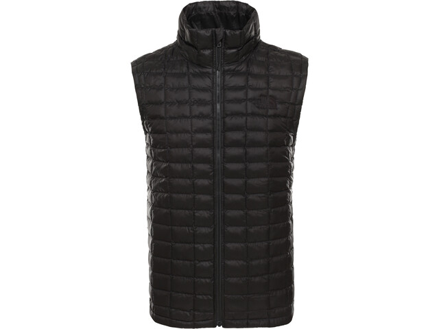 The North Face ThermoBall Eco Chaleco Capucha Hombre, tnf black matte